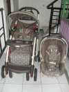 Stroller + Carseat - Graco coklat*sold*